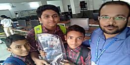 रोबोफेस्ट 2019 में पटना के डॉ. डी राम डीएवी के छात्रों का कमाल, स्कूल को दिलाया प्रथम स्थान