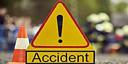 कांवरियां वाहन के चपेट में आने से युवक की मौत, अनियंत्रित होकर पलटा वाहन