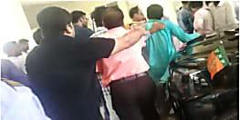 अस्पताल में वृद्ध की मौत पर भड़के परिजन, जूनियर डॉक्टरों ने की जमकर पिटाई