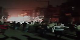 पटना सिटी में बवाल,मूर्ति विसर्जन करने जा रहे लोगों पर पत्थरबाजी,विरोध में जमकर हंगामा,गाड़ियों में लगाई आग