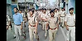 पटना सिटी में बिगड़े हालात को काबू करने में जुटी पुलिस, दलबल के साथ सड़क पर उतरीं एसएसपी गरिमा मलिक