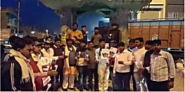 हैदराबाद गैंगरेप कांड के बाद नहीं थम रहा युवाओं का गुस्सा, शिवहर में निकाला मौन जुलूस