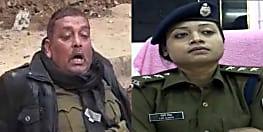 शराब के नशे में टल्ली पुलिसकर्मी ने SP लिपि सिंह को देख लेने की दी धमकी.....