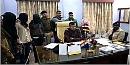 व्यवसायी हत्याकांड का जहानाबाद पुलिस ने किया उद्भेदन, हथियार के साथ तीन को किया गिरफ्तार