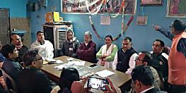 दिल्ली विधानसभा चुनाव में जेडीयू ने झोंकी ताकत, सांसद ललन सिंह और बिहार के मंत्री नीरज कुमार ने बुराड़ी में किया जनसंपर्क