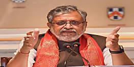 महागठबंधन के धरना पर सुशील मोदी का तंज, कहा- 15 साल के जंगलराज में कुल 9 चुनावों में 641 हत्याएं हुईं, तब उन्हें गांधी याद नहीं आए