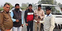 बिहार में चला विशेष हेलमेट-सीटबेल्ट जांच अभियान, 543 वाहन चालकों पर कार्रवाई