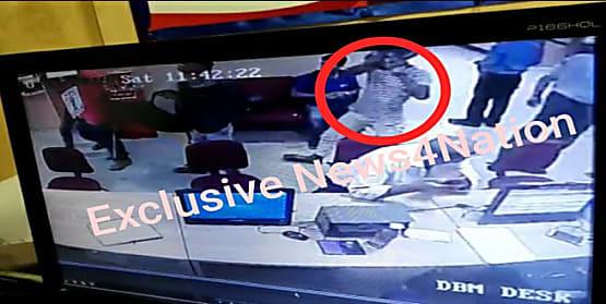 मुजफ्फरपुर में अपराधियों का दुस्साहस,दिनदहाड़े ICICI बैंक से लाखों रू लूटकर बदमाश हुए फरार