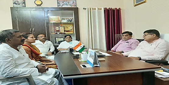 बीजेपी नेताओं का फोन नहीं उठाते नीतीश सरकार के अधिकारी,पटना की दुर्गति के लिए अफसर कसूरवार-रामकृपाल