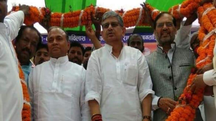 बाढ़ में आरसीपी सिंह और ललन सिंह ने एनडीए कार्यकर्ताओं को दिया एकजुटता का मंत्र