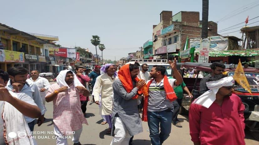 पाटलिपुत्र लोकसभा: निर्दलीय उम्मीदवार राजेश सिंह ने चलाया सघन जनसम्पर्क अभियान, वर्तमान सांसद को बताया विकास विरोधी