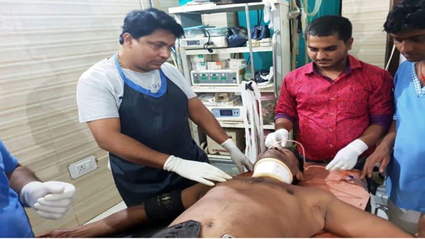 सीतामढ़ी में बेखौफ अपराधियों का तांडव, रिटायर आर्मी अधिकारी को मारी गोली, हालत गंभीर