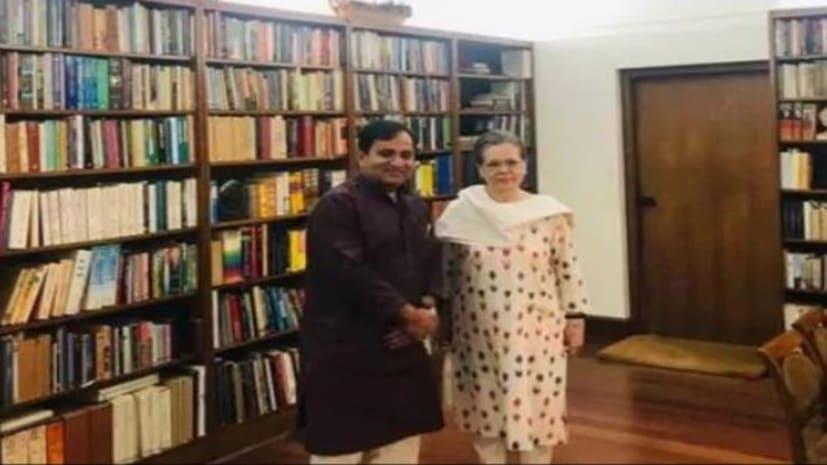 सोनिया गांधी से मिले पूर्व केंद्रीय मंत्री शकील अहमद, कांग्रेस में होगी वापसी?