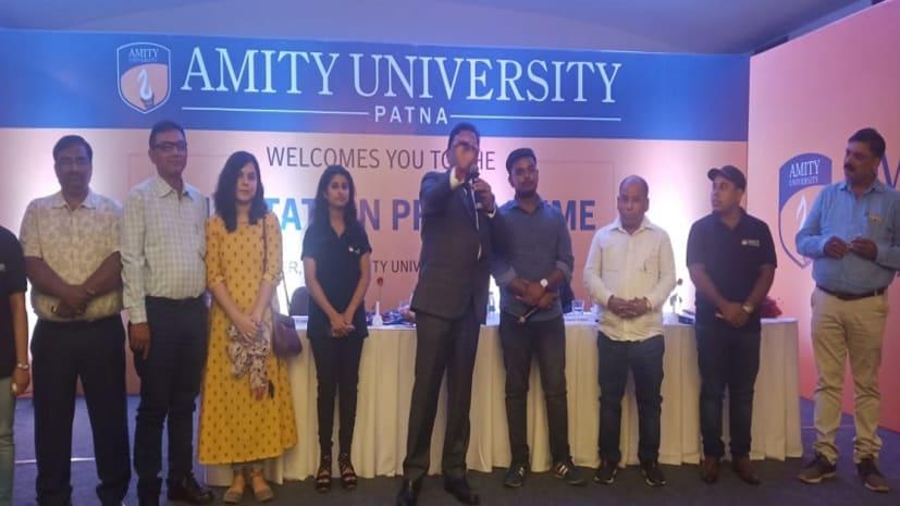 एमिटी यूनिवर्सिटी में संगठन 2019 का हुआ आयोजन, शिक्षक, कर्मी और छात्रों ने लिया बढ़-चढ़कर हिस्सा