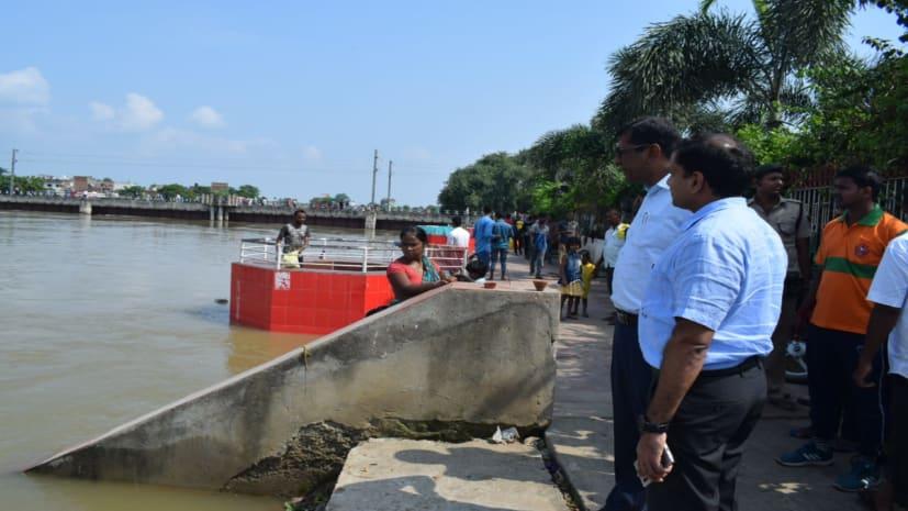 राहत की खबर....पुनपुन नदी के जलस्तर में गिरावट शुरू,5 CM की हुई कमी