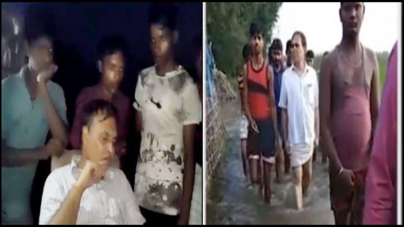 सीओ को गमछा पहनाकर जलजमाव वाले इलाकों में घुमाया, अब बिहार में अधिकारियों पर फूट रहा बाढ़ पीड़ितों का गुस्सा