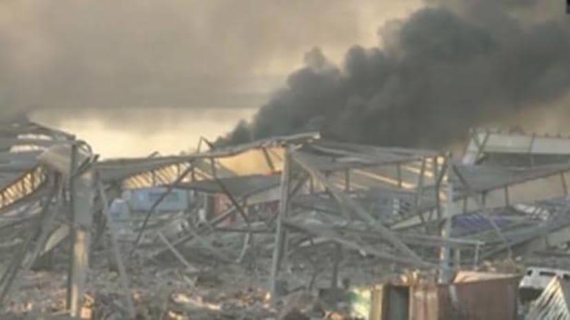 लेबनान की राजधानी बेरूत में धमाका, 78 की मौत, एमरजेंसी लागू