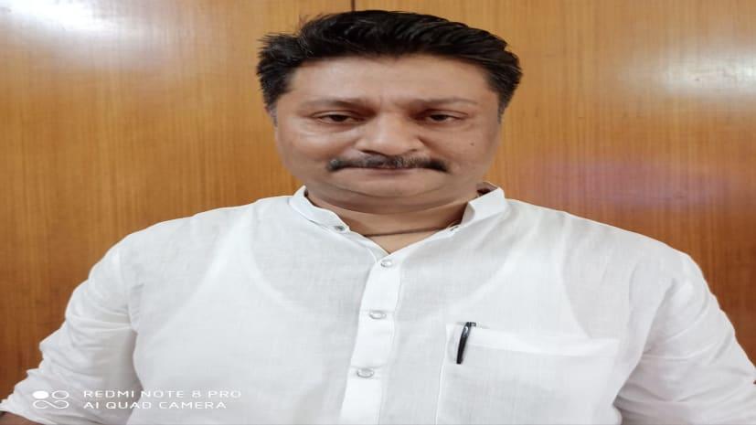 राजद के प्रदेश महासचिव अनिल शंकर ने सुदर्शन पर बोला हमला, कहा- चुनाव के पहले हड़बड़ा गए हैं विधायक जी