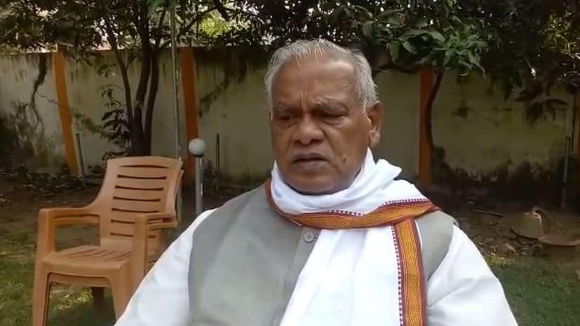 हम के अध्यक्ष जीतन राम मांझी का बयान, कहा- राज्य में फिर से नीतीश कुमार की ही सरकार बनेगी
