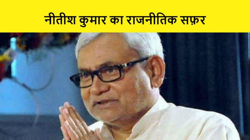 एक क्लिक में जानें नीतीश कुमार का राजनीतिक करियर