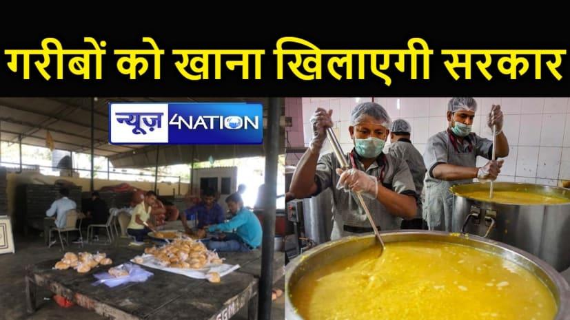 गरीब, निर्धन और निराश्रित लोगों को दो टाइम का खाना देगी राज्य सरकार, सभी जिलों में शुरू होगी सामुदायिक रसोई