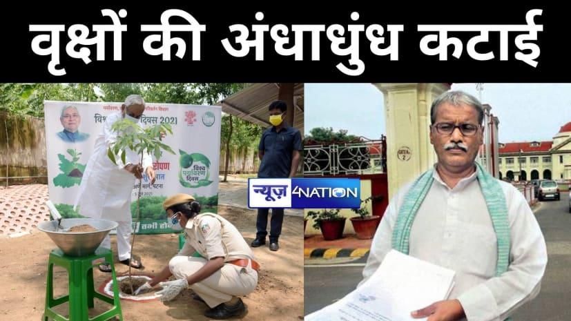 पर्यावरण दिवसः बिहार में वृक्षों की हो रही अंधाधुंध कटाई, RTI से हुआ खुलासा, NH चौड़ीकरण में 22 हजार से अधिक पेड़ हुए खत्म