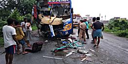 नवादा में दर्दनाक सड़क हादसा, दो की मौत, सात घायल