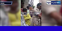 देह पर वर्दी और सामने मजलूम हो तो क्या बिहार पुलिस ऐसे ही गरियाती है! देखिए इस ट्रैफिक पुलिस वाले का गाली वाला वीडियो