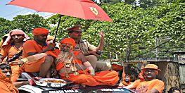 कांवड़ यात्रा की सिल्वर जुबली मना रहे गोल्डन बाबा, 20 किलो सोना पहनकर चढ़ाएंगे जल