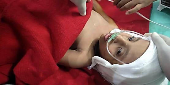 बोरवेल से 31 घंटे बाद सुरक्षित निकाली गयी सना, सदर अस्पताल में चल रहा है इलाज