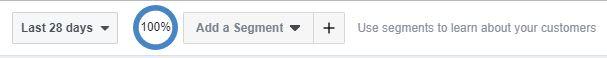 facebook analytics data segmenty
