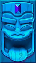 Aloha blå maske spil online