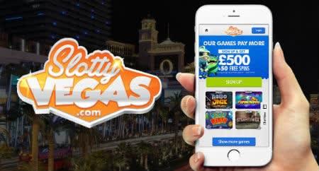 Slotty Vegas Casino bruger moderne teknologi