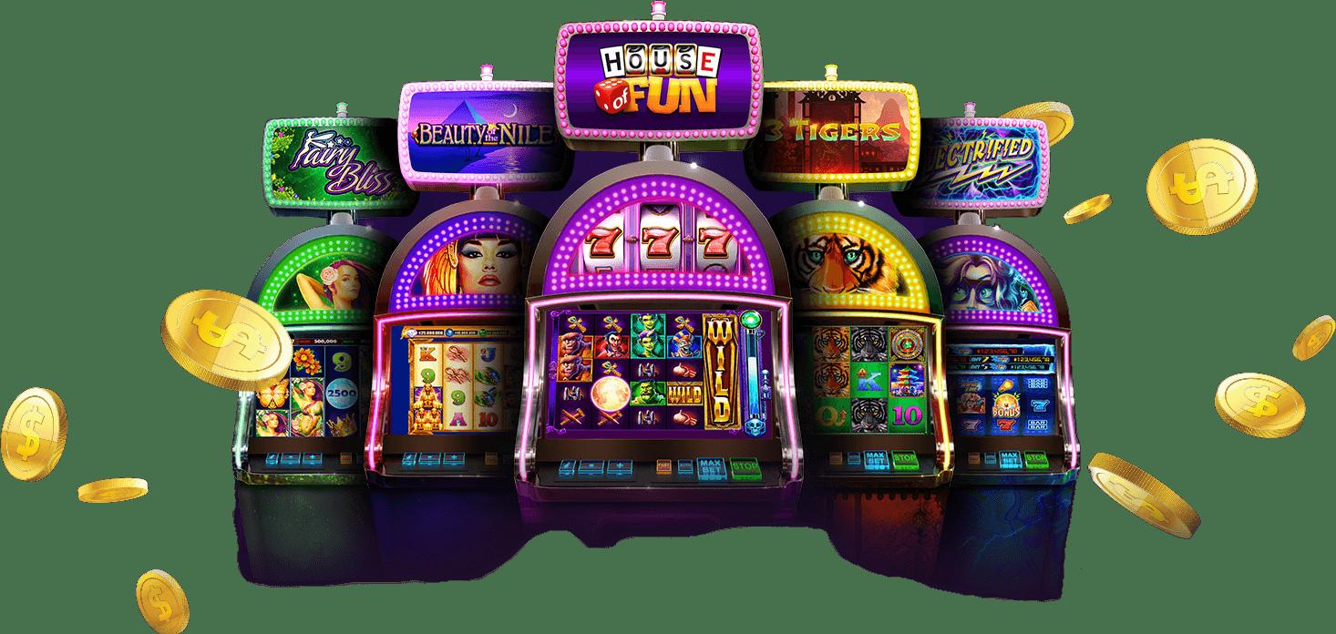 Spillemaskiner er nu på mode