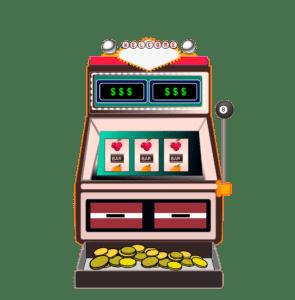 Spillemaskiner kan spilles