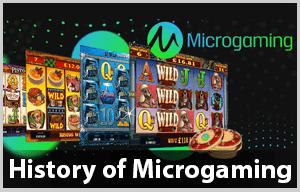 Microgaming virksomhedens historie