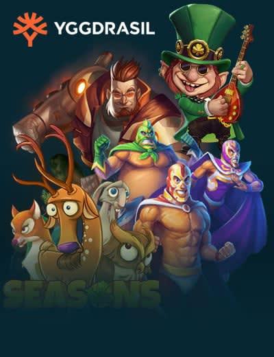 Valg af spil af Yggdrasil Gaming