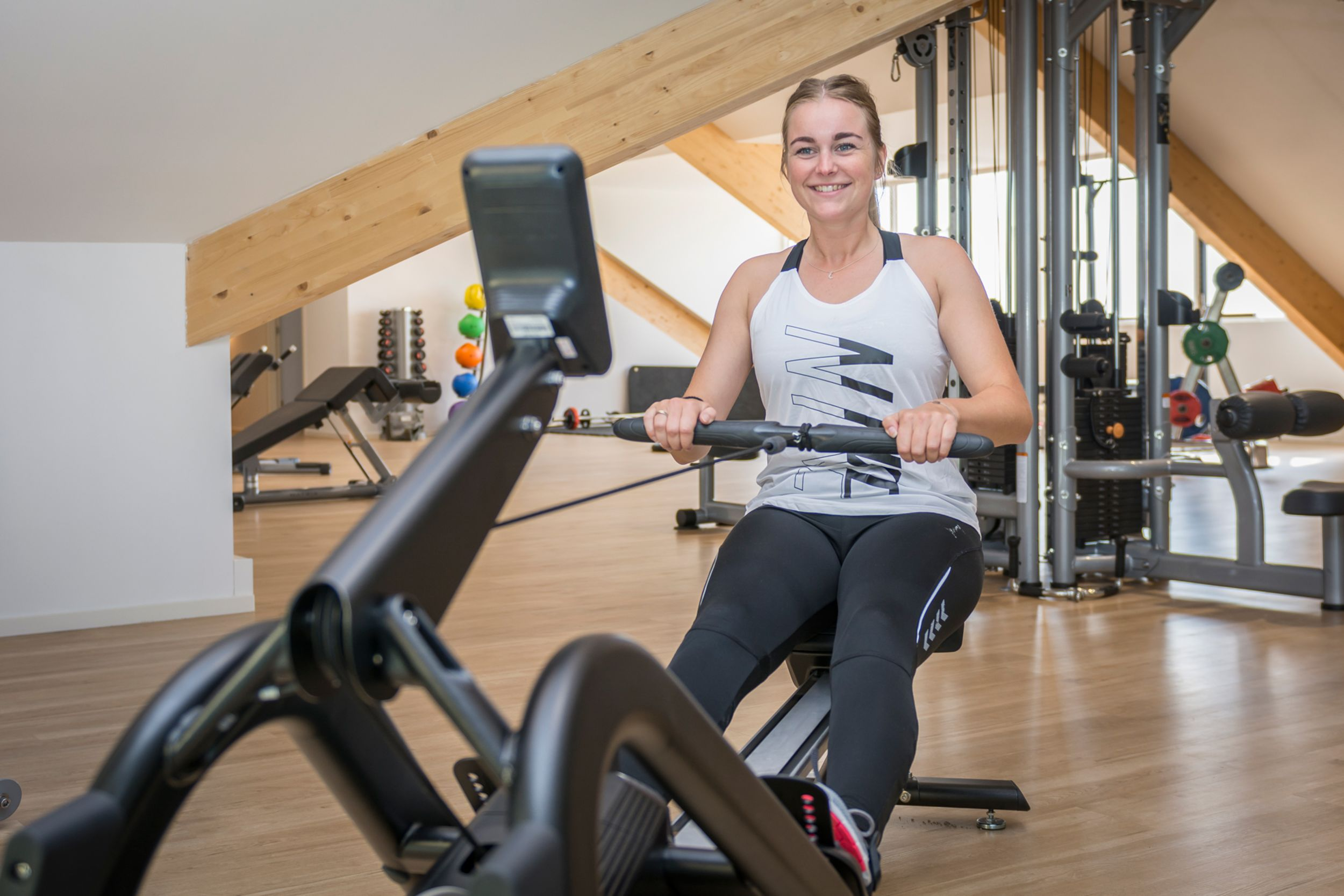 Gym at Holiday Park De Krim Texel