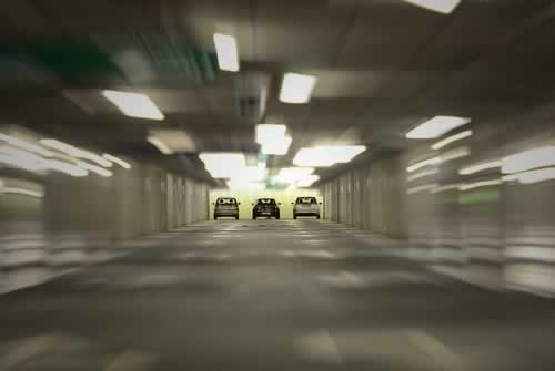 Back Parking Lots & Garages