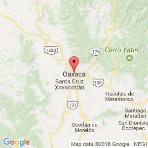 Localización de Oaxaca de Juárez en Oaxaca
