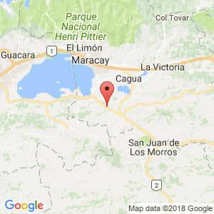 Localización de San Francisco de Asís en Aragua