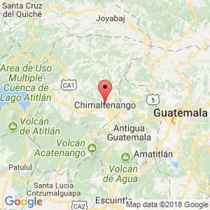 Localización de Chimaltenango en Chimaltenango