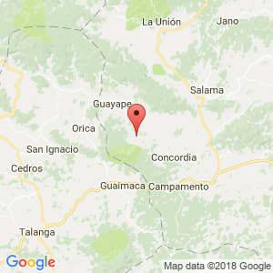 Localización de La Concepción en Olancho