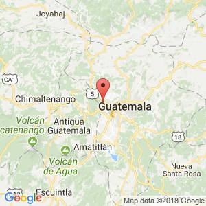 Localización de Mixco en Guatemala
