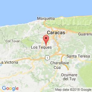 Localización de Carrizal en Miranda