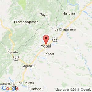 Localización de Yopal en Casanare