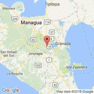 Localización de Niquinohomo en Masaya