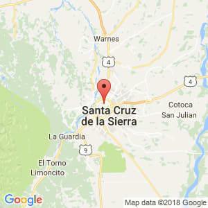 Localización de Santa Martha en Santa Cruz