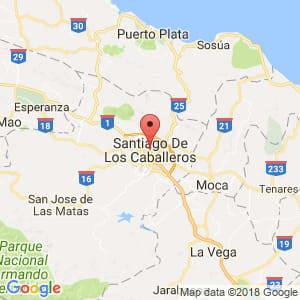 Localización de Santiago en Santiago