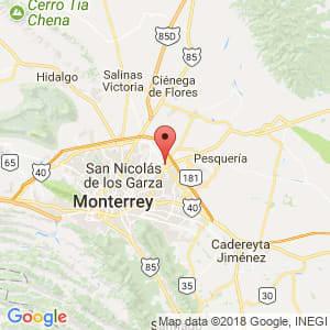 Localización de Apodaca en Nuevo León
